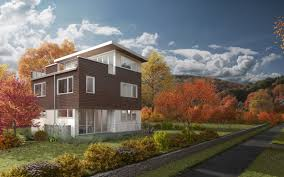 Rooftop Deck House Plans Seattle Green Prefab Home Provider To Take Center Stage At 2013