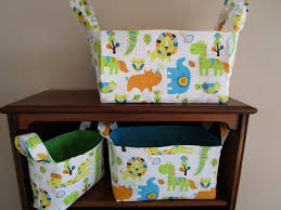 Sewing Patterns For Home Decor Nesting Basket Pattern Nursery Storage Basket 3 Sizes Easy