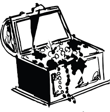 clipart of a treasure chest