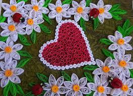 quilling designs how to make valentine s day or quilling greeting card paper quilling
