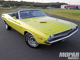 Dodge Challenger Convertible - muscle car dodge challenger r t 1971 with convertible version