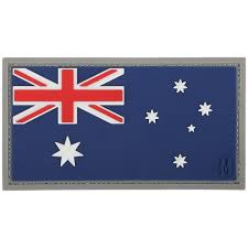 maxpedition australia flag full colour morale patch badges