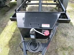 dump trailer 5 u0027x8 u0027 single axle 5200 gvwr pj split gate tarp