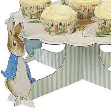peter rabbit cake stand u2013 sweet muffin