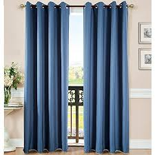 Orange Thermal Curtains Deconovo Printed Design Blackout Thermal Curtains Floral Pattern