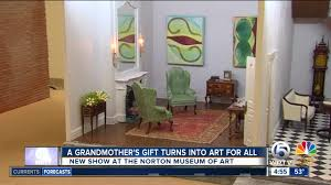 art for house dollhouse art at norton museum wptv com