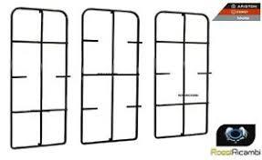 ricambi piani cottura ariston ariston serie 3 griglie per piano cottura 5 fuochi pf750 ricambi