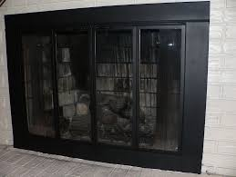 fireplace screen curtain binhminh decoration