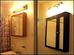 medicine cabinet lights above over medicine cabinet lighting bathroom over cabinet light light