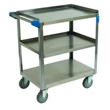 Trinity Stainless Steel Cooler With Shelf by Trinity Ecostorage 3 U2010tier 40 5 In X 18 In X 36 In Cart In