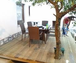 outdoor terrace diy 5 steps