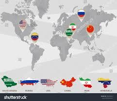 China Usa Map by World Map Saudi Arabia Russia Usa Stock Illustration 392658427