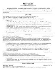 sample resume for marketing coordinator clientresumes