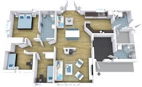 floor plans for bedrooms hillside home floor plans new split floor plans split bedrooms house