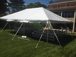 wedding ceremony under a tent rent today g u0026 k event rentals