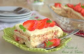 cuisine aux fraises comme un tiramisu aux fraises amour de cuisine