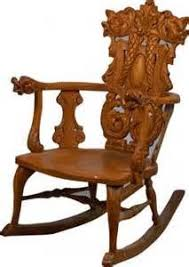 Rocking Chair Antique Styles Ladies U0027 Quartersawn Oak Empire Rocker Rocking Chair R46