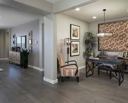 espresso hardwood floors home office transitional with