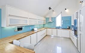 Kitchen Backsplash Photos White Cabinets 27 Blue Kitchen Ideas Pictures Of Decor Paint U0026 Cabinet Designs