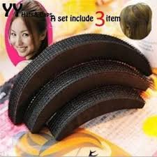 hair puff accessories combo of hair puff and hair donut set of 4 pcs hair accessories