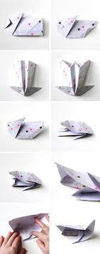 easter bunny baskets diy origami easter bunny baskets gathering beauty