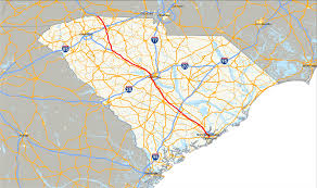 North Carolina State Map by Interstate 26 In South Carolina Wikipedia
