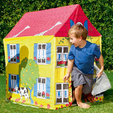 giardino bambini casetta gioco in tela per bambino giardino casa giocattolo svago 52007