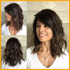 medium length hairstyles for thick hair appealing sensational medium length haircuts for thick hair