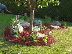Landscaping Ideas Around Trees Cheap Landscaping Ideas For Back Yard Filed In Tree Landscaping