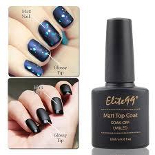 elite99 matte top coat qt nail gel polish qt nail shop