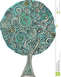 tree spiral stock vector illustration of nature decoration 10456931