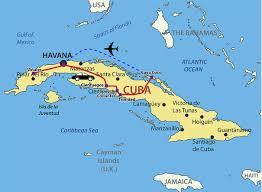 Map Cuba Cuba Map