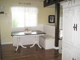 Kitchen Nook Ideas Kitchen Breakfast Nook Bench With Storage Diverting Round
