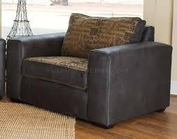 Big Oversized Chairs U0026 Leather Modern Living Room Sofa U0026 Large Chair Set