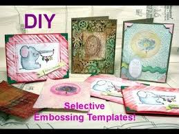 Embossing Templates Card Making - 86 best crafts dry embossing images on pinterest embossing