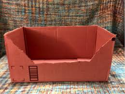 Decorate Cardboard Box Diy How To Make Your Cat A Fabulous Bed From A Cardboard Box