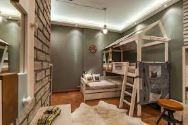 chambre enfant original l arrangement des lits superposés dans la chambre d enfant