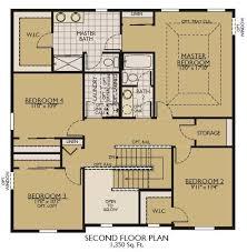 Fox And Jacobs Floor Plans Sheridan Ii Floor Plans William Ryan Homes