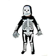Boys Skeleton Halloween Costume Kids Scary Skeleton Halloween Costume Amazon Uk Toys U0026 Games