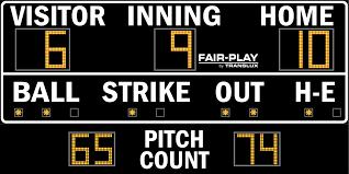 ba 7109 2 fair play scoreboards