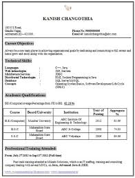 resume sles for freshers engineers free download career page 10 scoop it