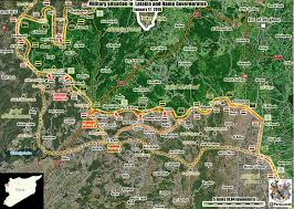Syria Live Map by Map Terrorists Disorganized In Latakia Syria U0027s Forces Advancing