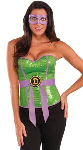 Corset Halloween Costume Tmnt Donatello Corset Costume Tmnt Costume Teenage Mutant