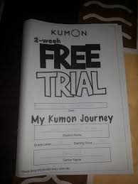kumon 2 week free trial u2013 life of aci
