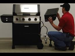 Brinkmann 6 Burner Bbq 810 2410 s assembly instructions youtube
