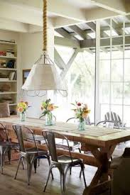 farmhouse table with metal chairs designing on the side i want to be joanna gaines when i grow up