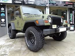 jeep wrangler commando green u00272005 car gr