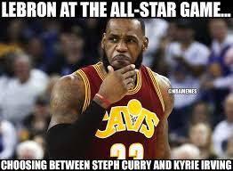 Nba Memes Lebron - nba memes lebron at the all star game like facebook