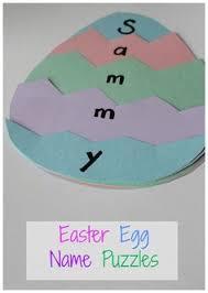 Preschool Easter Decorations by Easter Crafts For Kids Sponge Painted Easter Egg Basket Paper