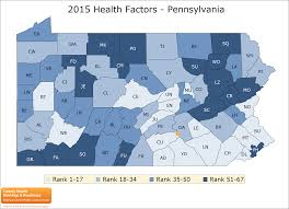 York Pennsylvania Map by Pennsylvania Rankings Data County Health Rankings U0026 Roadmaps